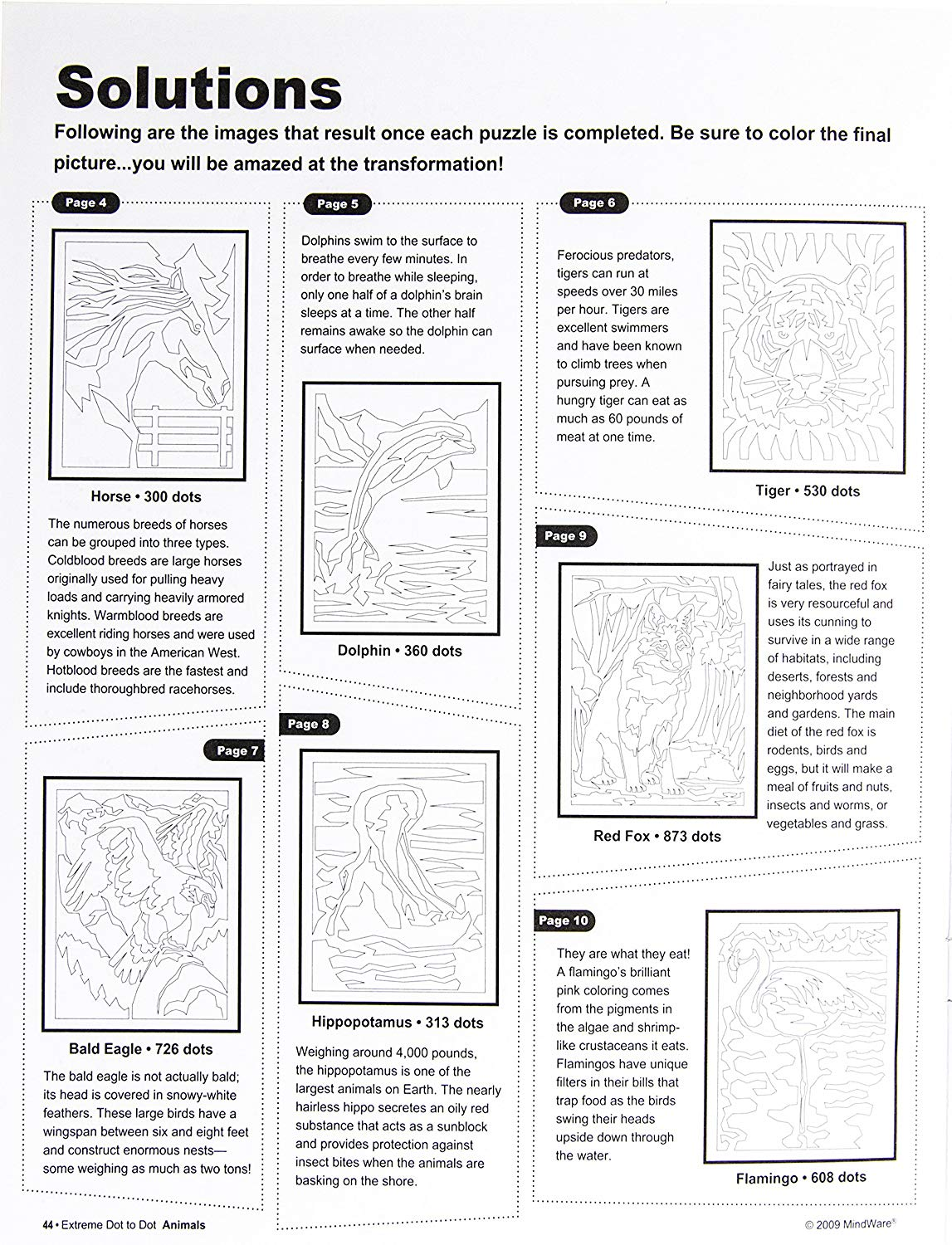 - Extreme Dot To Dot Animals Book Puzzles Range From 300 To Over