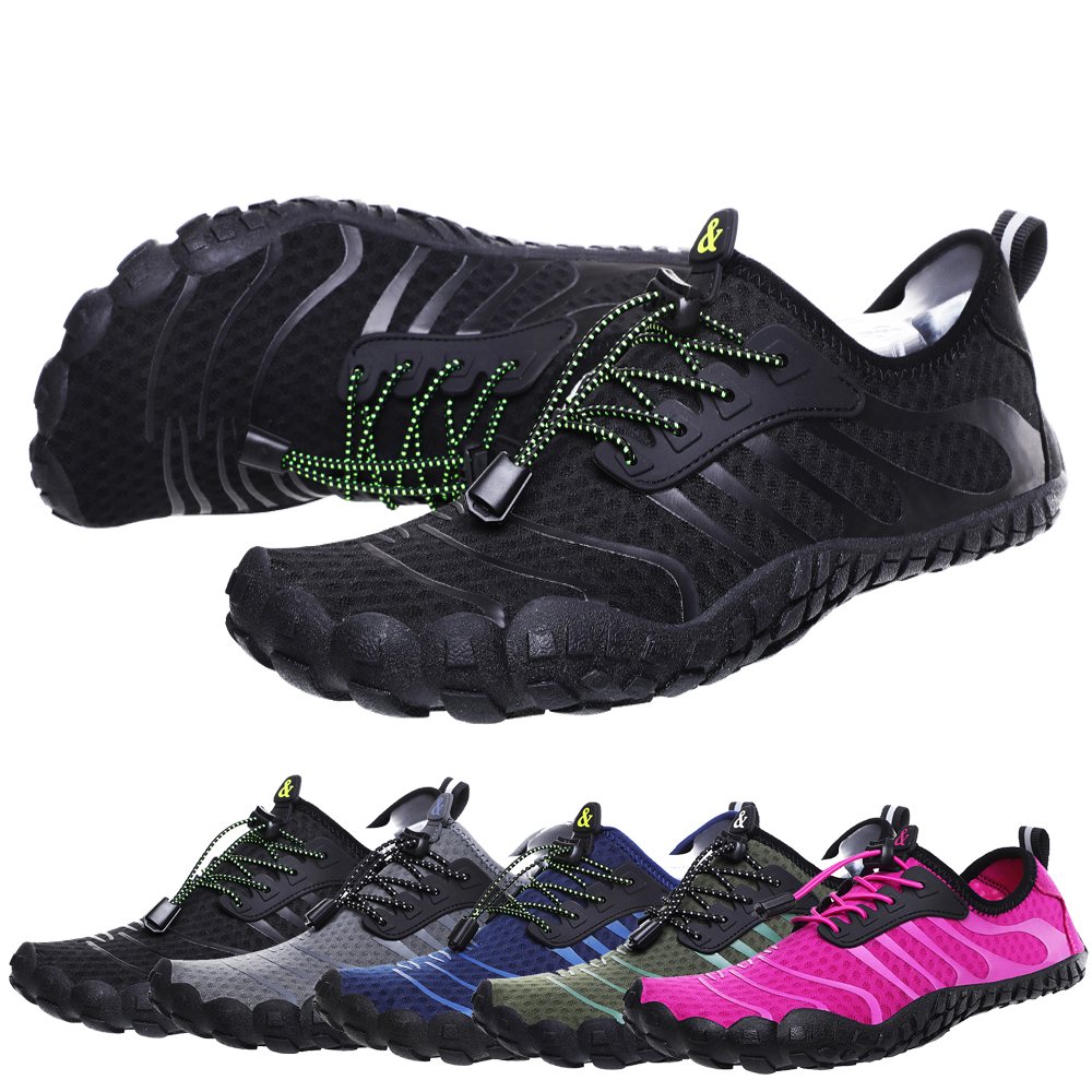 Water Shoes Men Women Quick Drying Black Shoes for Swimming Walking Seaside Outdoor Surfing Beach Yoga Shoe
