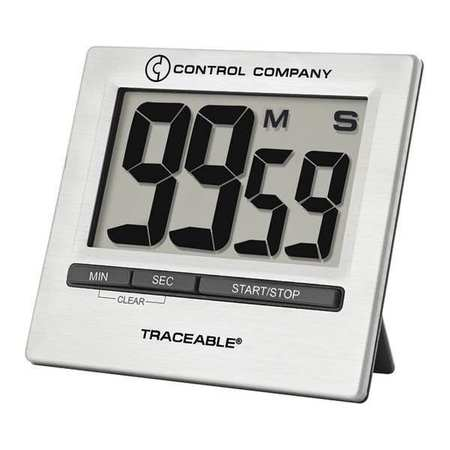 TRACEABLE 5011 Countdown Timer,1-1/3 In. LCD