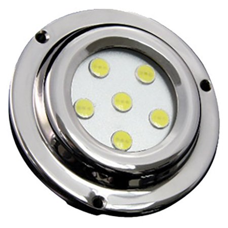 Street Vision Sv6x1g 6 Led 6X1w Surface Mount Marine Light Green