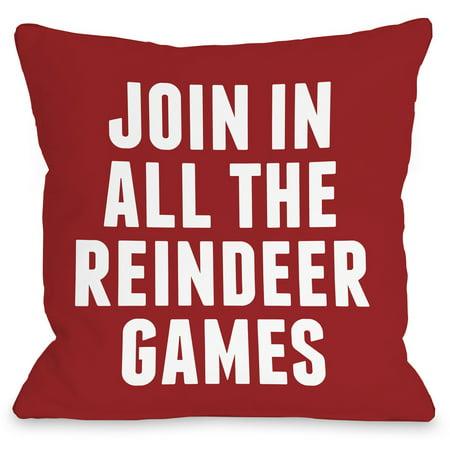 Indoor Reindeer (