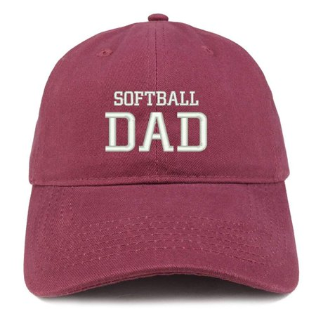 Trendy Apparel Shop Softball Dad Embroidered Soft Cotton Dad Hat -  Walmart.com 831d009154d7