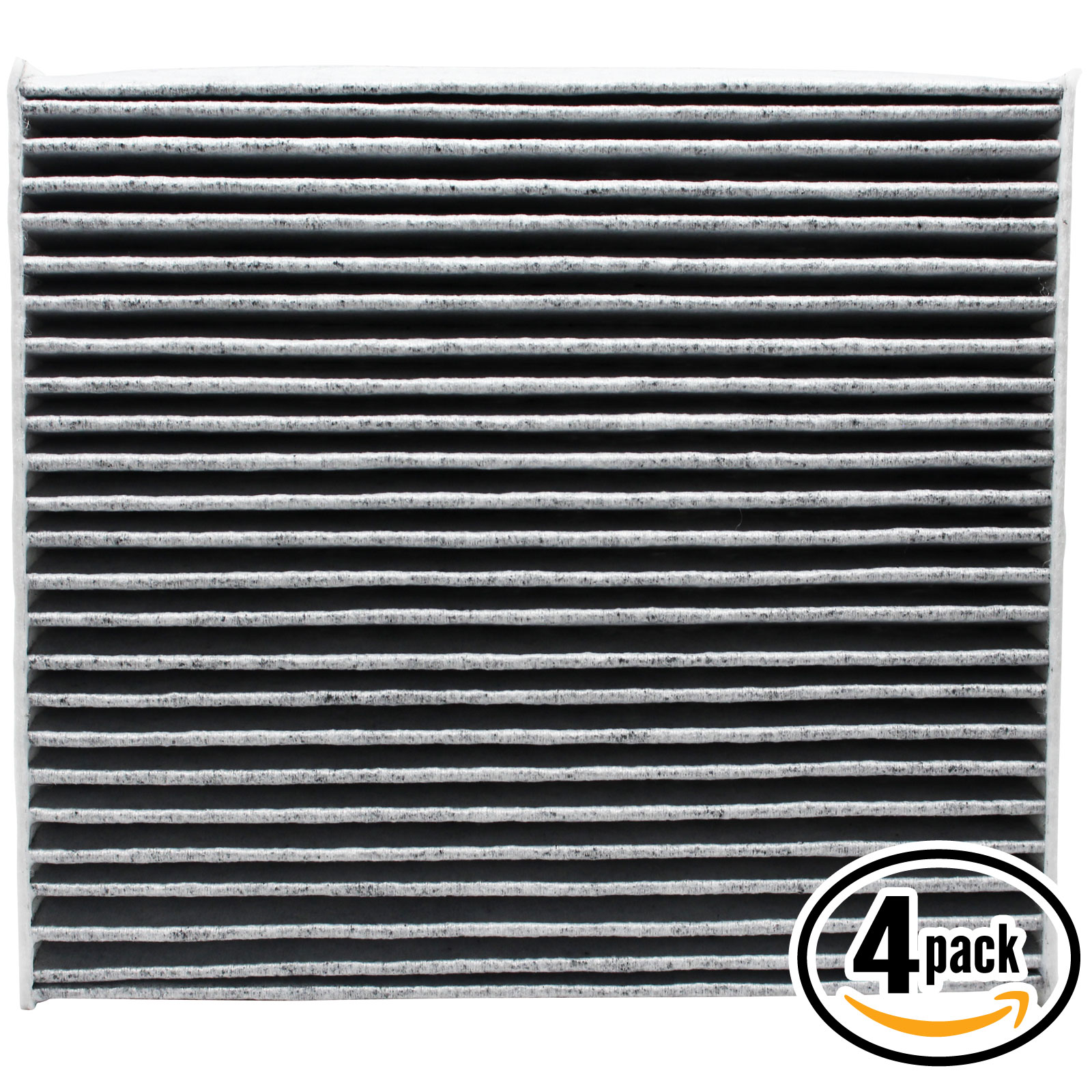 4-Pack Replacement Cabin Air Filter for 2007 Lexus GS 430 V8 4.3L 4293cc Car/Automotive - Activated Carbon, ACF-10285 - image 4 of 4