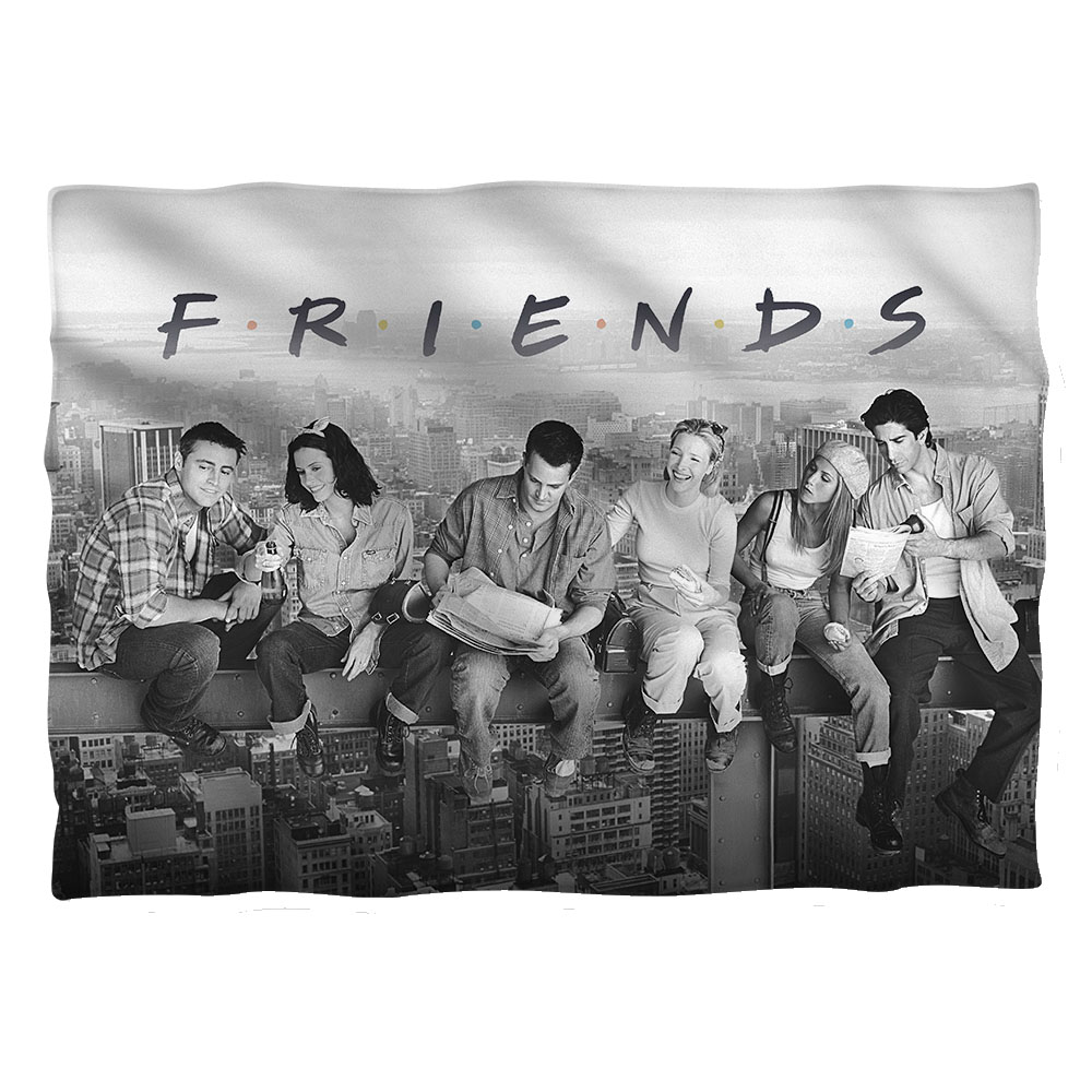 Friends Break Time (Front Back Print) Poly 20X28 Pillow Case White One Size