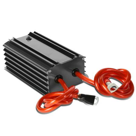 Palmer Stabilizer Regulator (Universal Electric System Car Battery Voltage Stabilizer Regulator w/ Cable (Gun Metal) )