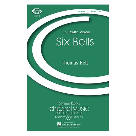 Boosey and Hawkes Six Bells (CME Celtic Voices) 3 Part Treble composed by Thomas Bell