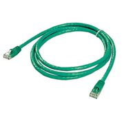 Ziotek 119 5278 CAT6 Patch Cable, with Boot 5ft, Green