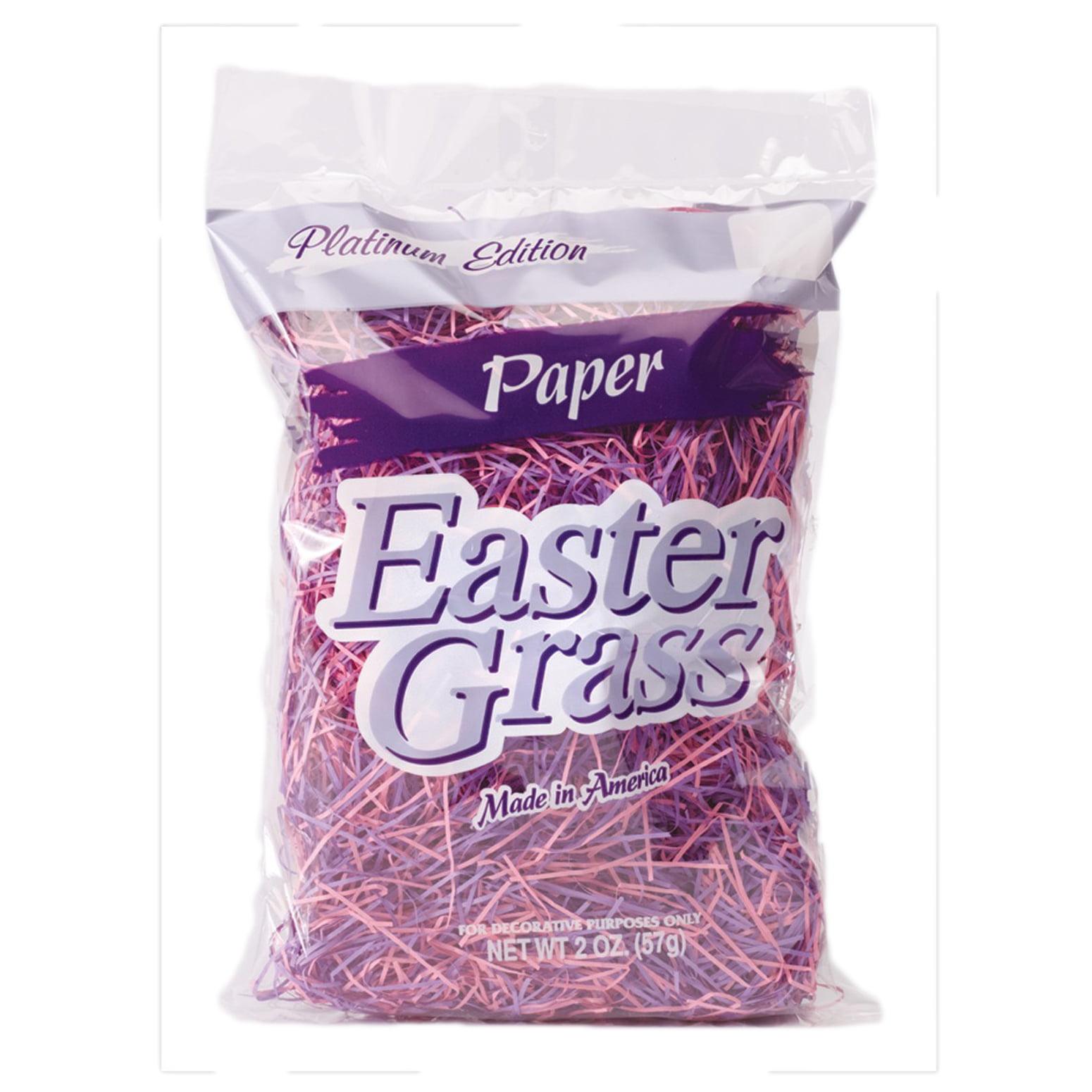 Super Fine Paper Shred 2-Tone Spring Easter Grass 2 oz Gift Basket Fill