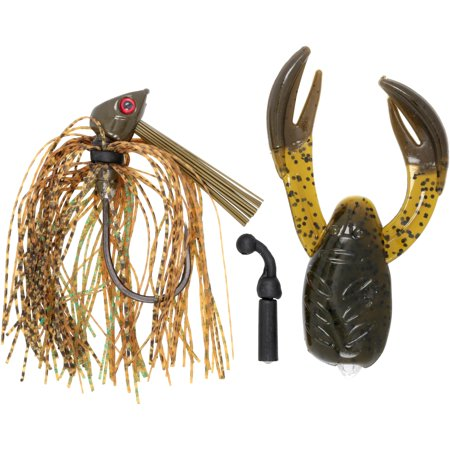 Hart 1/2 Justice Jig™ with Bonus Rat-L-Chunk Fishing Tackle 2 pc Pack