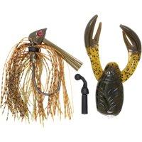 Hart 1/2 Justice Jig™ with Bonus Rat-L-Chunk Fishing Tackle 2 pc Pack