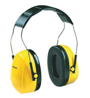 Image of 3M 08071 Peltor Optime 101 Over-the-Head Earmuff