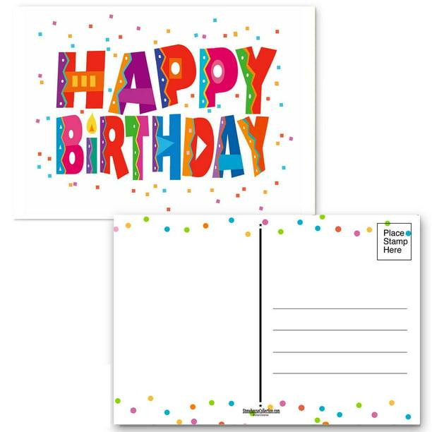 100 Count Bulk Pack Happy Birthday Ribbons