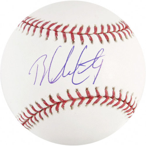 MLB - Brandon McCarthy Autographed Baseball | Details: MLB Baseball