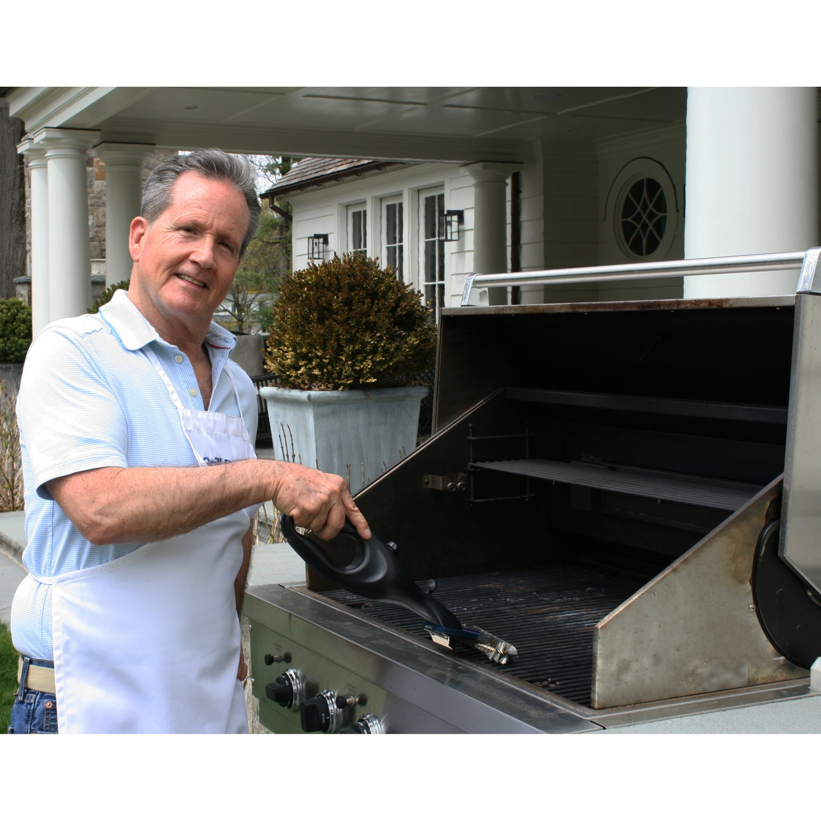 Grill Daddy Original Safety-Clean with Bristle-Lock technology