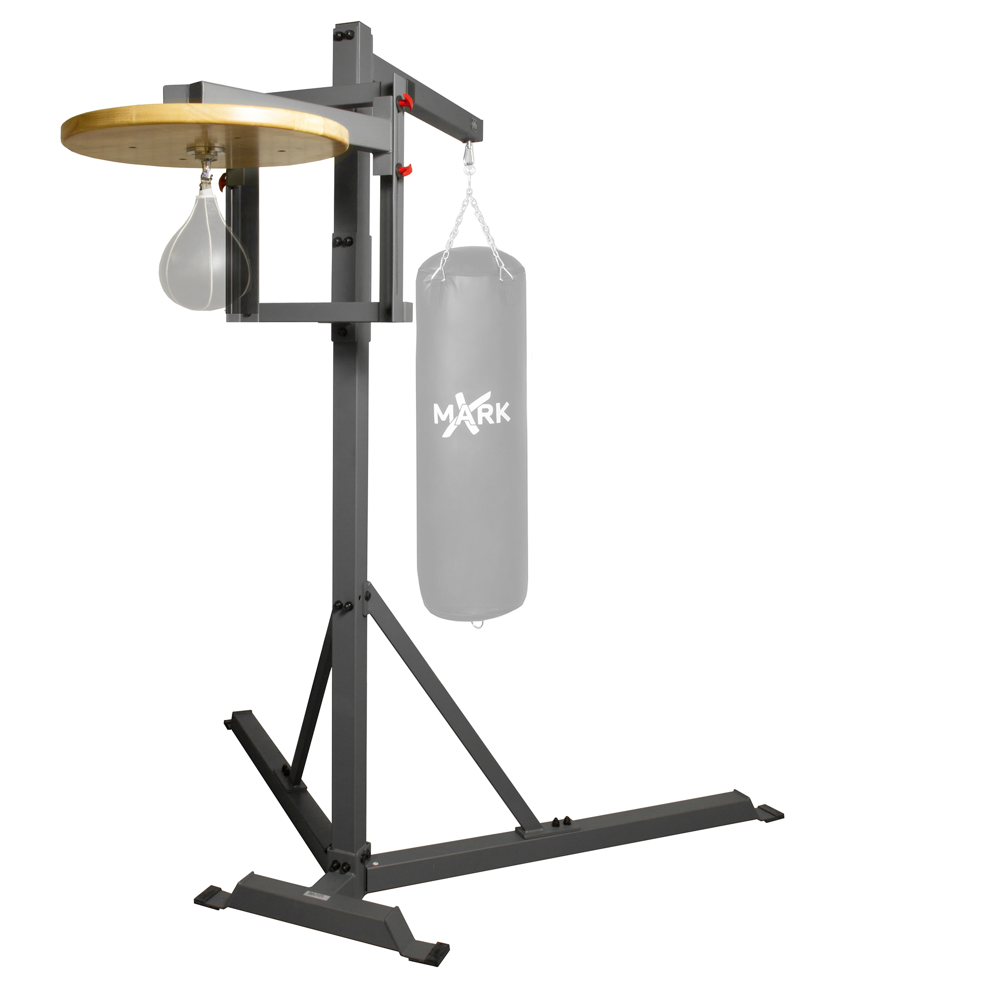 XMark Commercial Heavy Bag Stand with Speed Bag Platform XM-2848