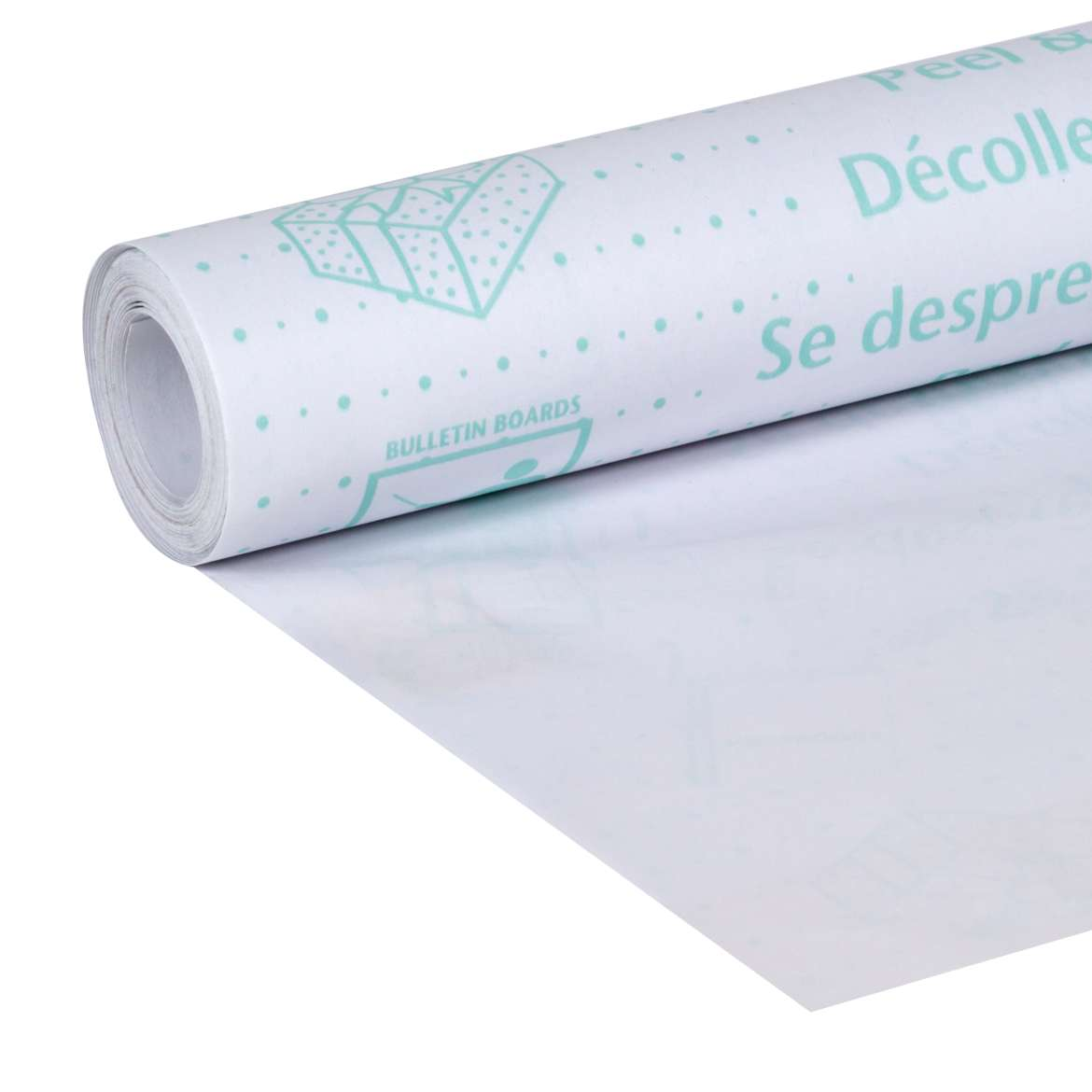 "Duck Brand Peel And Stick Permanent Adhesive Clear Laminate Roll 20/"" x 20/' ft."