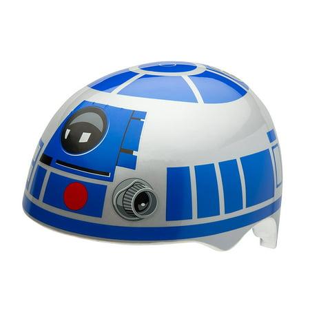 Bell Sports Star Wars R2-D2 Toddler Multisport Helmet, Blue/Silver - Star Wars Helmets