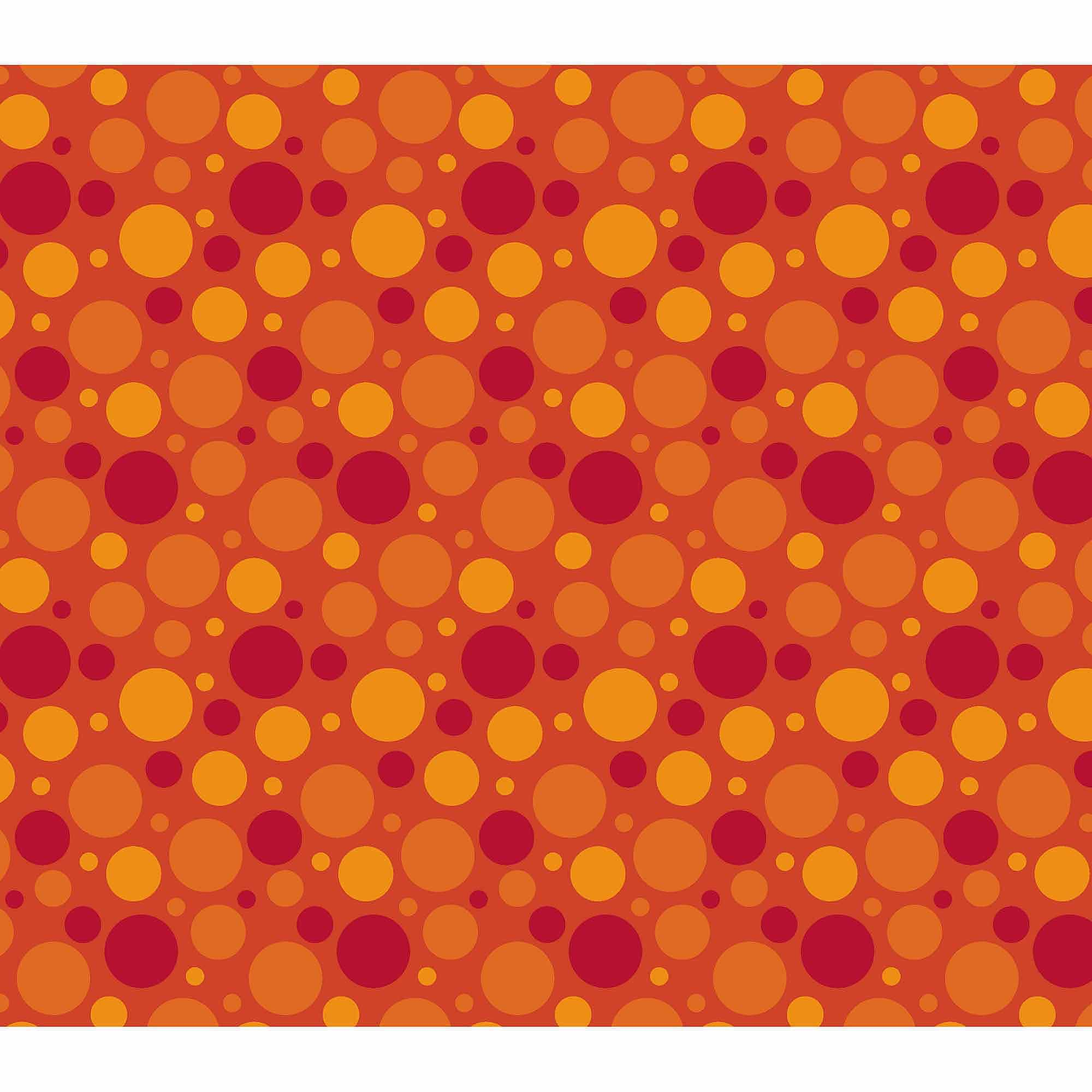 Springs Creative Cotton Blenders Tonal Dot, Flame, Fabric by the Yard
