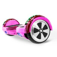 XtremepowerUS Self Balancing Electric Scooter Hoverboard UL CERTIFIED, Chrome Pink