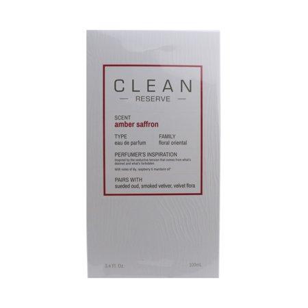 326ec8881d Clean - Clean Reserve 'Amber Saffron' Eau De Parfum 3.4oz/100ml New In Box  - Walmart.com