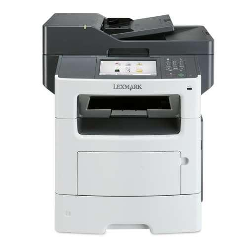 Lexmark MX611de 35S6701 MultiFunction Printer - Monochrome Laser, 1200 x 1200 dpi, 50 ppm, Duplex Printing, Dual-Core 80