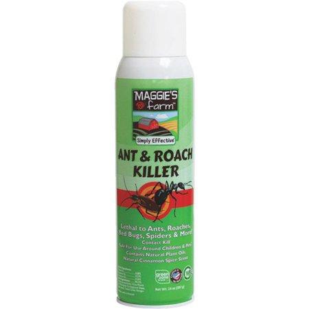 Maggie's Farm Ant & Roach Killer Spray, 14-ounce