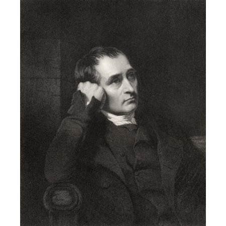 Image of Samuel Crompton 1753 To 1827 English Inventor Engraved By J Morrison After Allingham From The Book National Portrait Gallery Volume V Published C 1835 Canvas Art - Ken Welsh Design Pics (26 x 32)