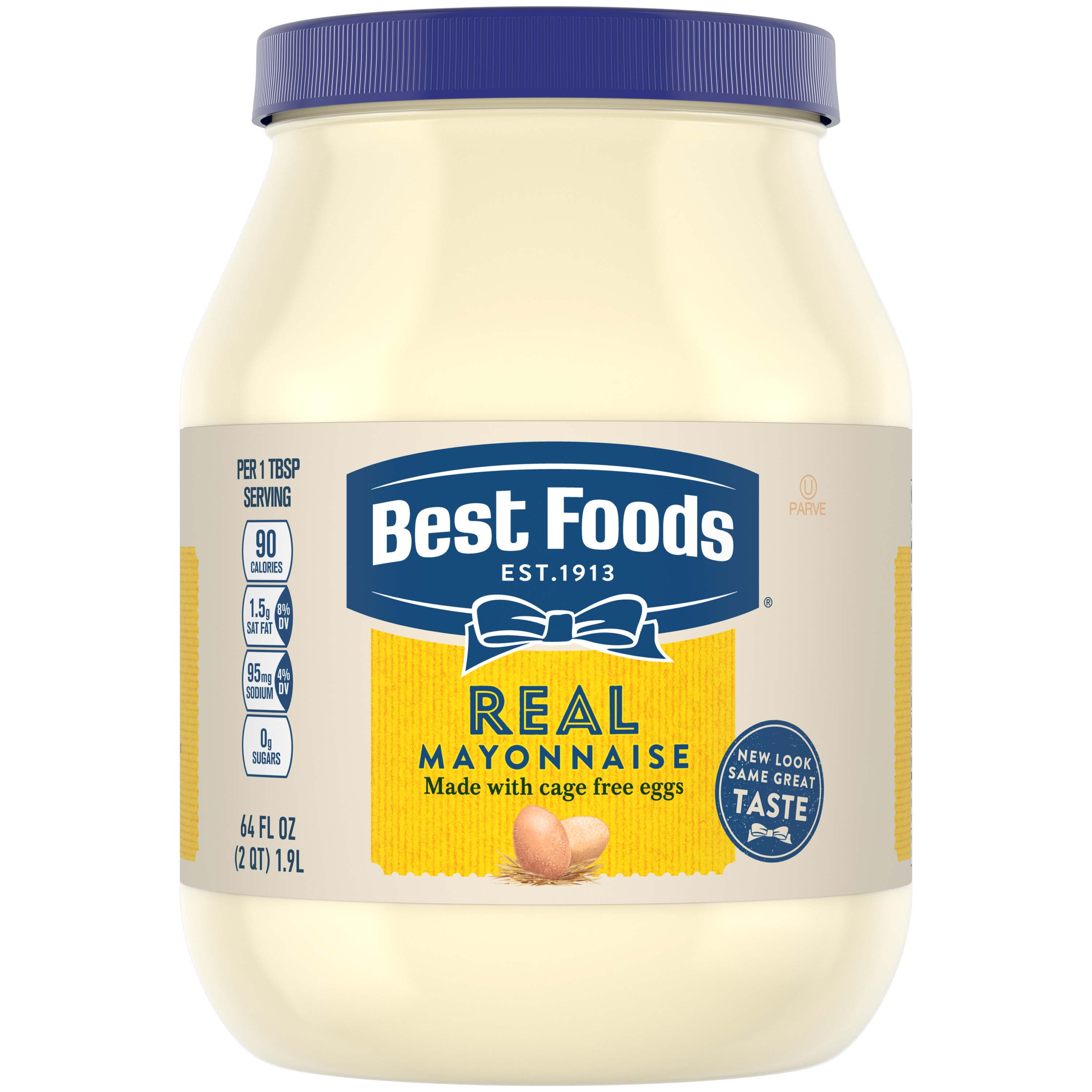 Best Foods Mayonnaise Real, 64 oz