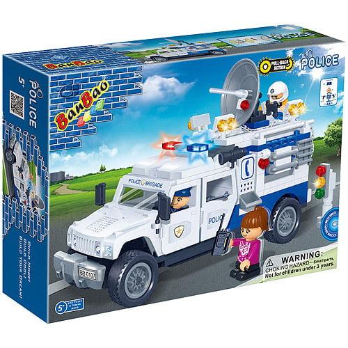 BanBao Police Truck Play Set
