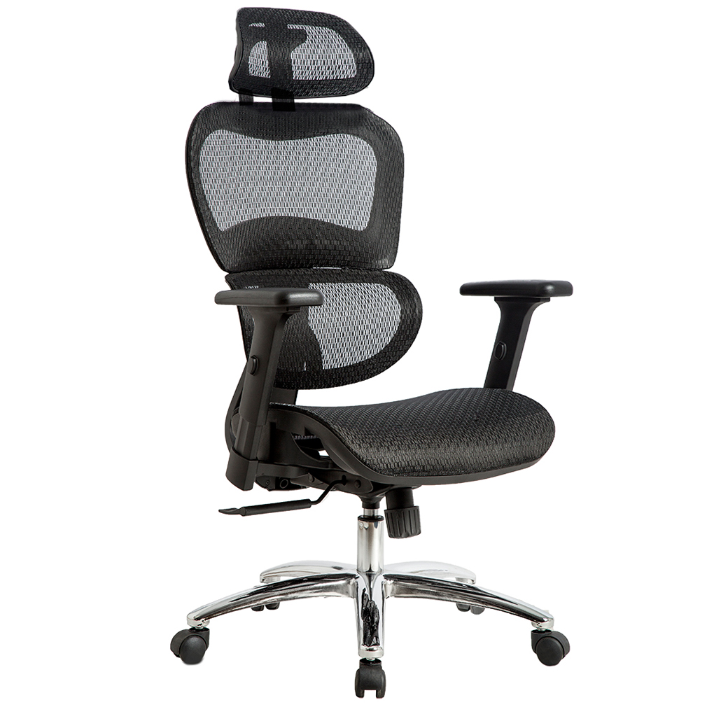 Office Chair Mesh Chair Ergonomic Chair Desk Computer Swivel Executive Rolling Home Tall Chair With 3D Arms Back Lumbar Support For Conference Office Study Room