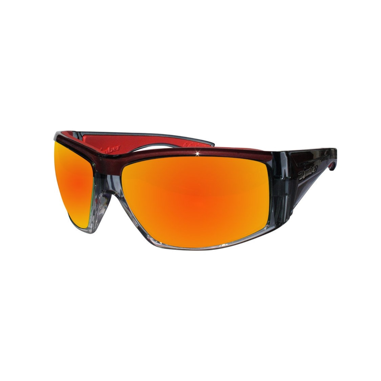 1d015146b7a Bomber - Bomber Sunglasses - Ahi Bomb  2-Tone Crystal Frame Red PC Safety  Lens Red Foam - Walmart.com