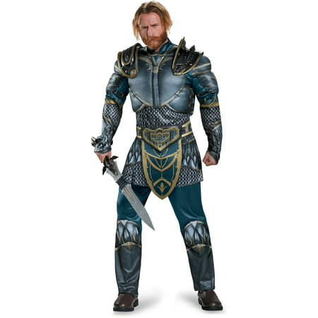 Legendary's Warcraft Lothar Classic Muscle Adult Halloween Costume - Adult Muscle Costume