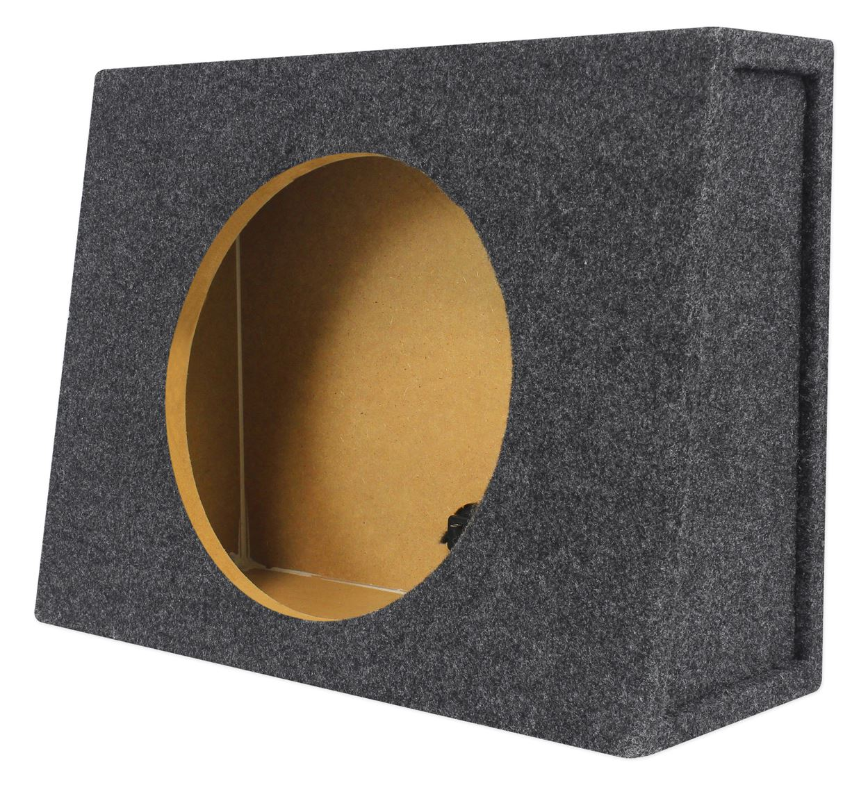 "Rockville Shallow Box Enclosure For Kicker 43CVT124 CompVT 12"" Subwoofer"