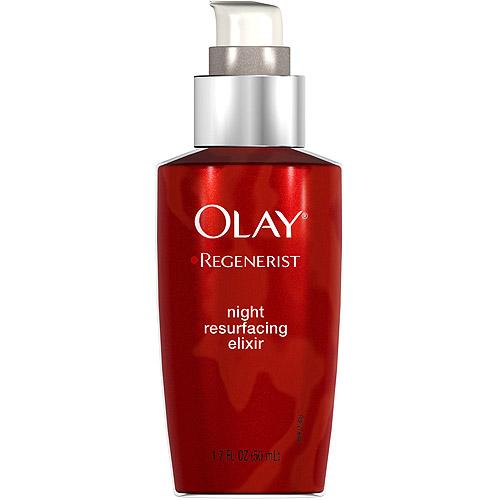 Olay Regenerist Advanced Anti-Aging Night Resurfacing Facial Moisturizer Elixir 1.7 Fl Oz