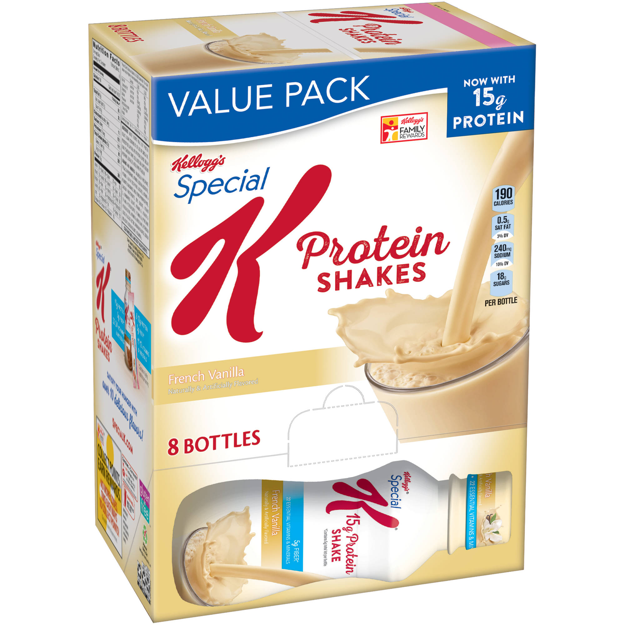 Kellogg's Special K French Vanilla Protein Shakes, 8 count