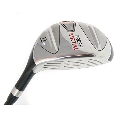 Founders Club Fresh Metal 13 Fairway Wood with Graphite Shaft and Head Cover (30 Degrees,