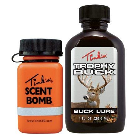TROPHY BUCK URINE 2OZ W/SCENT BOMB