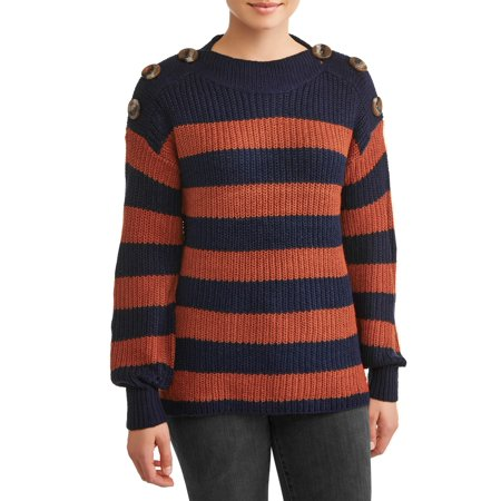Women's Rib Cuff Sweater
