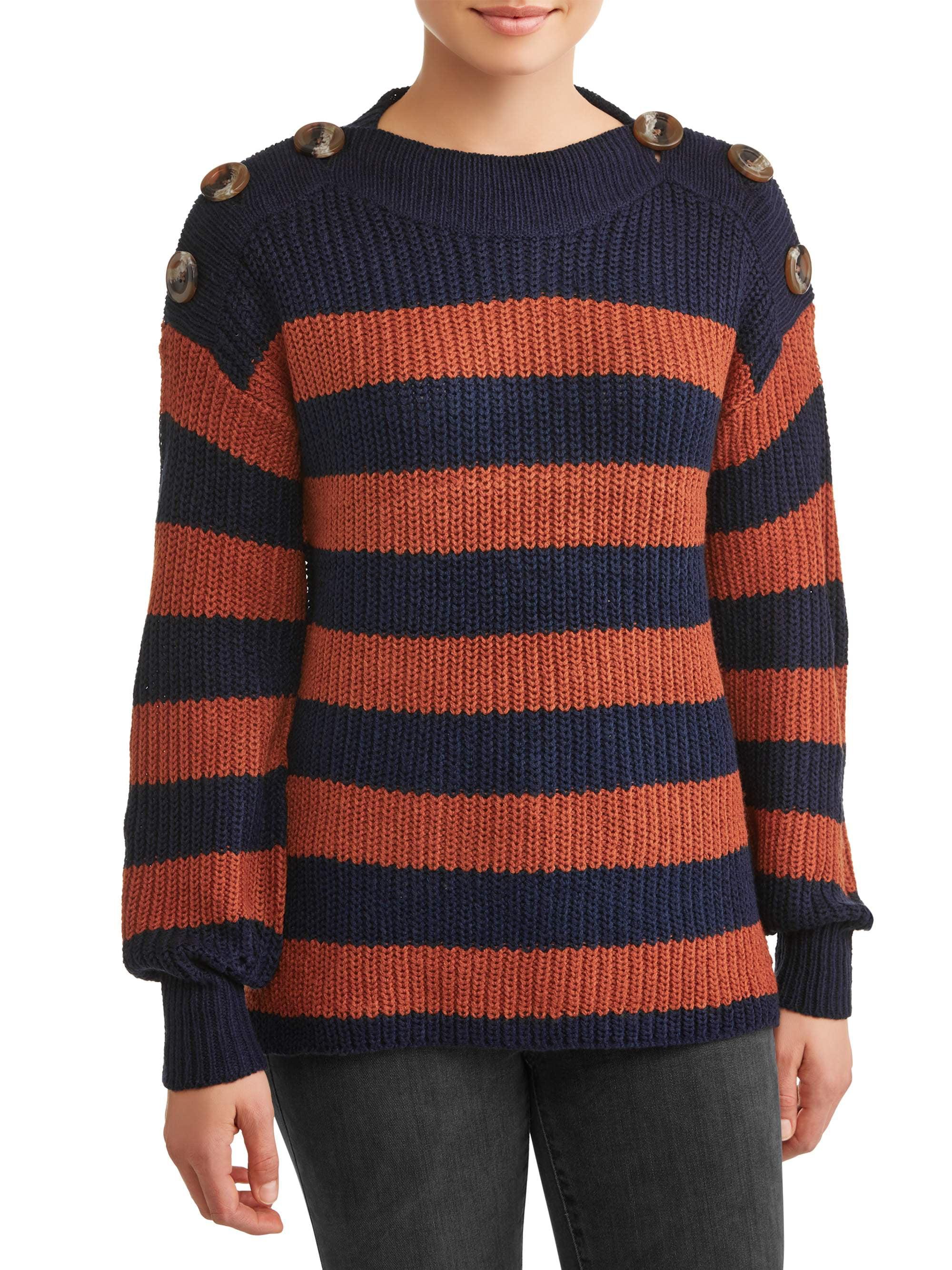 Women's Rib Cuff Sweater