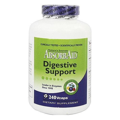 Image of Absorbaid Digestive Support Veggie Caps, 240 Ct