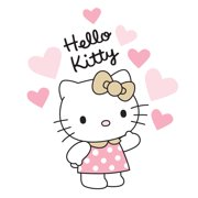 Hello Kitty Luv Hearts Wall Appliques