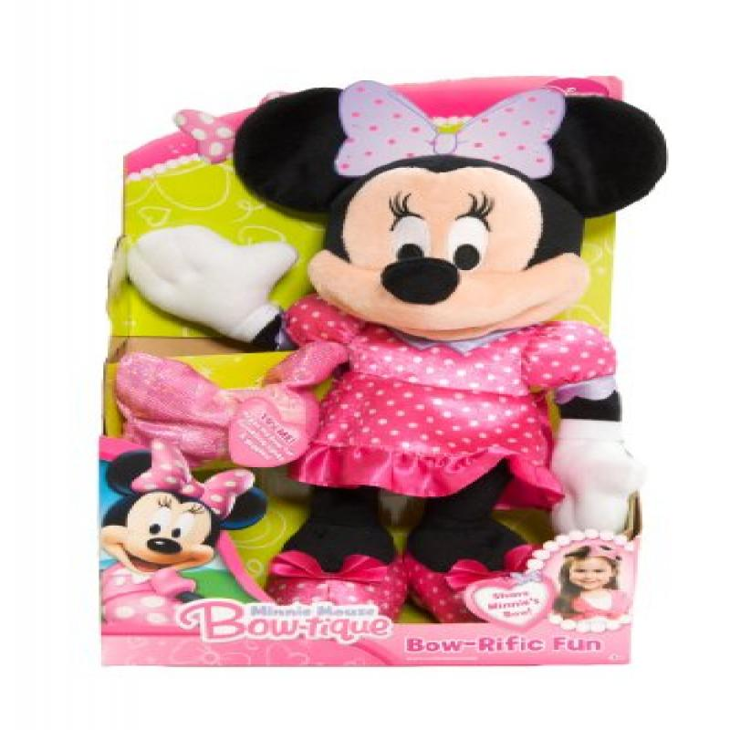 Disney Minnie Bowtique Bowrific Plush