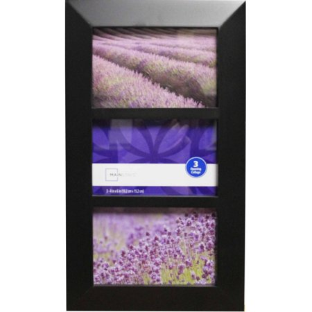 Mainstays Wide 3-Opening Photo Frame - Walmart.com