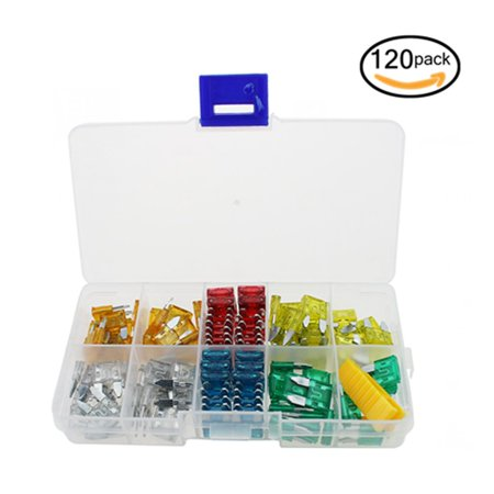 120Pcs/Lot Automotive Blade Fuse Box Portable Car APM Mini Blade Mixed Set  | Walmart CanadaWalmart.ca