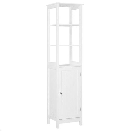 Wooden Floor Cabinet Storage for Bathroom/Living (Floor To Ceiling Cabinets For Living Room)