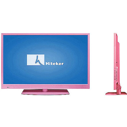 "Hiteker 32"" Class LED-LCD 720p 60Hz HDTV,(2.0"" ultra-slim) E32V7, Choose Your Color"