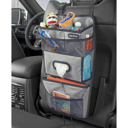 high road tissuepockets car seat back organizer and tissue holder. Black Bedroom Furniture Sets. Home Design Ideas