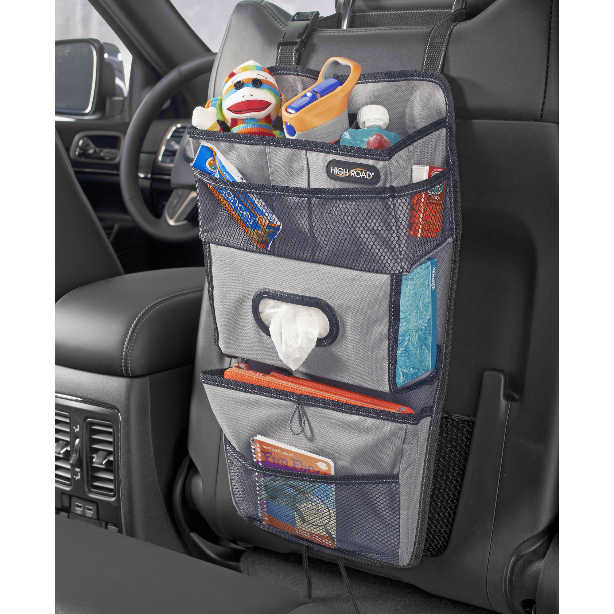 High Road TissuePockets Car Seat Back Organizer and Tissue Holder