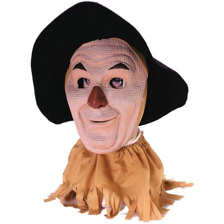 Batman Scarecrow Mask (Scarecrow Adult Halloween Latex Mask)