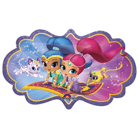 Shimmer And Shine 27 Shape Balloon Party Supplies